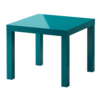 table basse verte