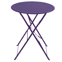 table guinguette violette
